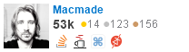 profile for Macmade on Stack Exchange, a network of free, community-driven Q&A sites