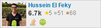 profile for Hussein El Feky on Stack Exchange, a network of free, community-driven Q&A sites