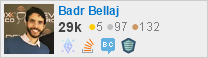 profile for Badr Bellaj on Stack Exchange, a network of free, community-driven Q&A sites