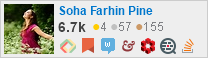 profile for Soha Farhin Pine on Stack Exchange, a network of free, community-driven Q&A sites