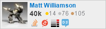 profile for Matt Williamson on Stack Exchange, a network of free, community-driven Q&A sites