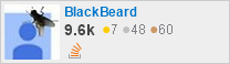 profile for BlackBeard on Stack Exchange, a network of free, community-driven Q&A sites