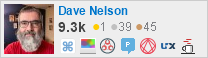 profile for Dave Nelson on Stack Exchange, a network of free, community-driven Q&A sites