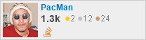 profile for PacMan on Stack Exchange, a network of free, community-driven Q&A sites