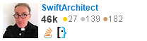 profile for SwiftArchitect on Stack Exchange, a network of free, community-driven Q&A sites