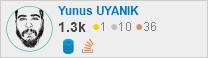 profile for Yunus UYANIK on Stack Exchange, a network of free, community-driven Q&A sites