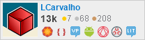 profile for LCarvalho on Stack Exchange, a network of free, community-driven Q&A sites