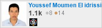 Profile for Youssef Moumen El idrissi on Stack Exchange