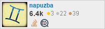 profile for napuzba on Stack Exchange