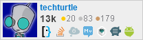 profile for techturtle on Stack Exchange, a network of free, community-driven Q&A sites
