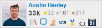 profile for Austin Henley on Stack Exchange and Stack Overflow
