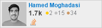 profile for Hamed Moghadasi on Stack Exchange, a network of free, community-driven Q&A sites