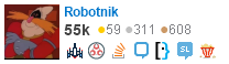 profile for Robotnik on Stack Exchange, a network of free, community-driven Q&A sites