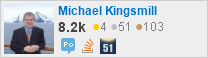profile for Michael Kingsmill on Stack Exchange, a network of free, community-driven Q&A sites