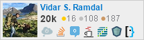 profile for Vidar S. Ramdal on Stack Exchange,a network of free, community-driven Q&A sites