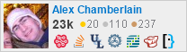 profile for Alex Chamberlain on Stack Exchange, a network of free, community-driven Q&A sites