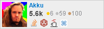 profile for Akku on Stack Exchange, a network of free, community-driven Q&A sites