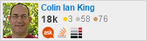 profile for Colin Ian King on Stack Exchange, a network of free, community-driven Q&A sites