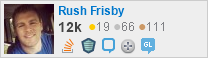 Profile for Rush Frisby on Stack Exchange
