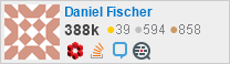 profile for Daniel Fischer on Stack Exchange,a network of free, community-driven Q&A sites